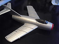 Name: CIMG1694.jpg Views: 67 Size: 229.2 KB Description: Cox micro P-47 canopy in place of a non existant stock Mig canopy.