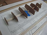 Name: IMG_6035.jpg Views: 574 Size: 217.0 KB Description: For now,  I simply tacked the bulkheads in place with CA.