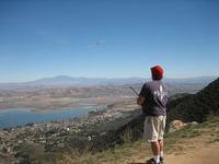 Name: elsinore2.jpg Views: 116 Size: 28.2 KB Description: Me Flying overlooking lake Elsinore