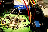 Name: DSCF6136cl.jpg Views: 225 Size: 110.7 KB Description: 2.4 Ghz FrSky Ground (-) wire to NEG on Beeper of Power PCB