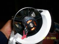 Name: 100_0132.jpg Views: 1591 Size: 45.6 KB Description: Rear of fan....sits nicely. I have heatshrinked wires in an attempt to keep it streamlined