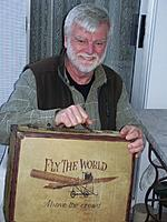 """Name: David O Fly the World 3-27-2017.JPG Views: 75 Size: 426.0 KB Description: David with his """"new"""" suitcase 2017."""