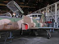Name: P7180062.jpg Views: 205 Size: 92.6 KB Description: Northrop F-5 in Soviet Aggressor scheme