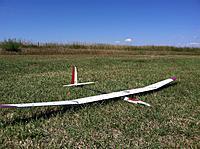 "Name: image-9fb6b88a.jpg Views: 819 Size: 306.3 KB Description: Red Merle 130"" wingspan. 67oz."