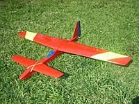 "Name: IMG_8552_resize.jpg Views: 284 Size: 139.4 KB Description: 48"" canard slope soarer using elevons and flaps.  (3-servo wing)"