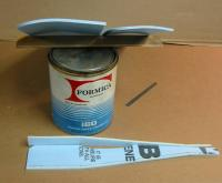 Name: 111-1151_IMG.jpg Views: 664 Size: 40.2 KB Description: Camber heat-formed into wings. Also in view is my new choice of FFF adhesive. Formica brand #160 adhesive works a charm. I found this can stored away and it looks to be c.1956 but holds very well. Used everywhere except for horiz-stab.