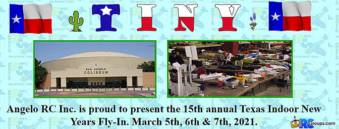 Y'all Come to the 15 Annual T.I.N.Y. March 5, 6, and 7th 2021!!!