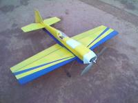 Name: yellow-blue-stella-maiden.jpg Views: 259 Size: 57.8 KB Description: Stella after a complete rebuild and recover. Probably the 3rd or 4th major repair, this one was more major than others!.. but same plane