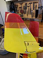 """Name: 3A268631-A035-4E14-97D7-BD7C78C8422C.jpg Views: 102 Size: 2.98 MB Description: Oversized rudder made early on for better performance and to eliminate """"Aquila Walk� at speed."""