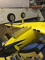 Name: IMG_9698.jpg Views: 73 Size: 2.06 MB Description: Over on the FMS 980mm thread there are some nice how to's (by borntoolate) on the operating nosegear doors! Really easy mod that I shamelessly copied to my 3 P-39's and it looks great!
