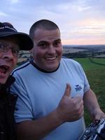 Name: DSC02931.jpg Views: 429 Size: 57.2 KB Description: Happy pilots after a top evening.  George & Adam