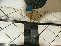 Name: DSCF4221.jpg Views: 658 Size: 153.0 KB Description: Drilling the aft hole in the fuse