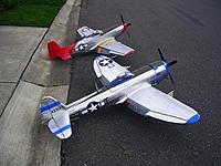 Name: DSCN5582.jpg Views: 281 Size: 269.8 KB Description: The FMS 1700MM P-51D and P-47D.