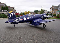 Name: luckynumber3a.jpg Views: 347 Size: 286.3 KB Description: My FMS 1700MM F4U-4 Corsair.  V2