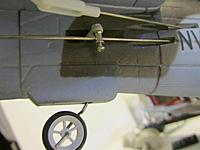 Name: IMG_4132.jpg Views: 99 Size: 116.5 KB Description: The tailgear assy is similar to the big Stuka. easier to adjust.