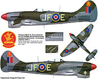 Name: 0-Tempest-MkV-RAF-3Sqn-JF-E-Pierre-Clostermann-NV874-England-1944-0A.jpg Views: 684 Size: 168.3 KB Description: