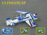 """Name: ULTIMATE-EP.jpg Views: 1297 Size: 115.9 KB Description: Product Name : Ultimate-EP  Size  Wing span: 30 in / 760mm Wing area: 292 sq in / 19 sq dm Flying weight: 1.1 lb / 480g  Fuselage length: 31 in / 780 mm  Out runner Brushless Motor 400T  Radio Required: 4 channels, 4 servos(Mini) Prop : 9""""X5&"""