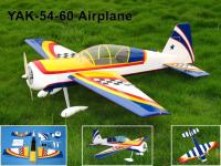 Name: IMG_225999.jpg Views: 386 Size: 137.0 KB Description: Product Name  :YAK-54-60 Airplane  Size  Wing span: 56in / 1420mm           Wing area: 616sq in / 39.8sq dm Flying weight: 5.2lb /2400 g           Fuselage length: 52.3 in / 1330 mm Engine Required: 2c 0.60cu in 4c 0.75 cu in            Radio Required
