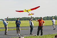 Name: Perry Bell 2017 Photo  (25).jpg Views: 3 Size: 1,010.5 KB Description: Perry Bell took this photo of me launching the Oly II at 2017 Woodcrafters at the AMA in Muncie.