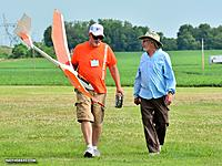 Name: IMG_6998.JPG Views: 4 Size: 224.2 KB Description: Pat helping me with timing at the NOS NATS in 2016.  The Viking is now over 30 years old and still my best thermal ship.  Sky Bench makes this kit now.  It was from Craft-Air.