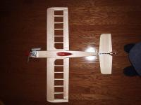 Name: Indy40046.jpg Views: 239 Size: 68.5 KB Description: Sighting your plane from above on a wood floor or even a VCT floor in the kitchen if it has a gridwork will help you visually check your alignment.
