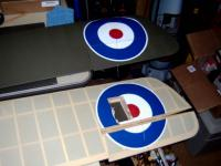 Name: Makeing Roundels 006.jpg Views: 267 Size: 88.2 KB Description: The look like paint dont they !!