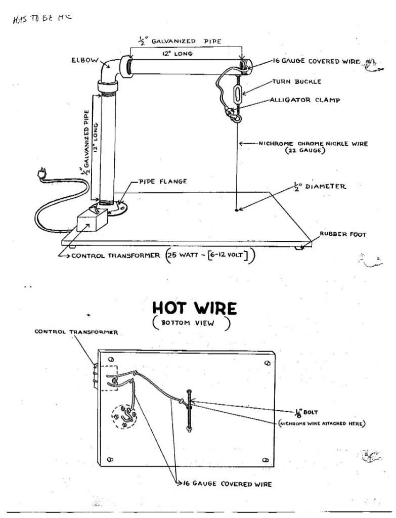 Hot Knife Wiring Diagram Wiring Diagrams Best Hot Rod Hot Wire Foam Cutter  Wiring Diagram