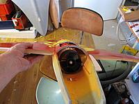 Name: dagen føre dagen 005.jpg Views: 183 Size: 197.3 KB Description: fan and ducts glued in the Draken