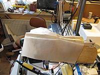 Name: hot epoxy 005.jpg Views: 169 Size: 239.4 KB Description: the teflon baking sheet with a little  epoxy left to harden.