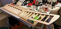 Name: Swizzle_stick_3chwing.jpg Views: 231 Size: 771.3 KB Description: 3 channel wing. Right half was already built so I repaired it and built the left half.