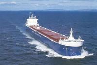 Name: image001.jpg Views: 374 Size: 45.5 KB Description: MV SELKIRK SETTLER in calm water on Lake Superior, Nov. 2006