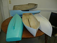 Name: Finished CapeIsland Lobster Boat Hulls.jpg