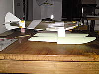 Name: DSC00532.jpg Views: 99 Size: 72.7 KB Description: rudder cut out and trial fitted on the plane