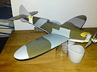 Name: DSC00545.jpg Views: 99 Size: 64.7 KB Description: Work done so far: rudder section adjusted, clear canopy Mounting of brushless motor and replacing the prop and re-using the stock spinner.