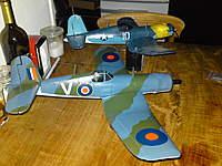 Name: DSC00835.jpg Views: 68 Size: 106.5 KB Description: F4U's in the hangar undergoing major repairs