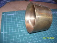 Name: 100_7806.jpg Views: 235 Size: 71.3 KB Description: brass mold for the nozzles. The inside shape is similar in section with a plane wing