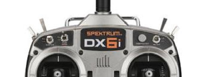 The impressive full range DX6i with the advanced programing features to grow with you as you progress in the hobby.