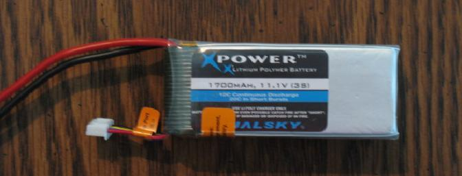 Dualsky Xpower battery.