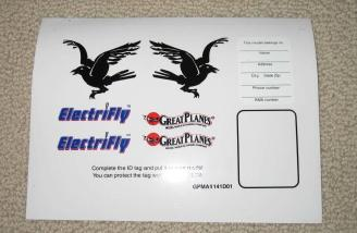 Decal sheet is also nice!