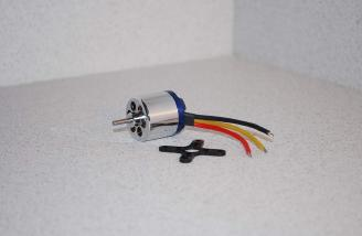 Don's RC Wicked brushless motor - small, light and <b>very</b> powerful.