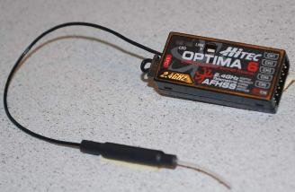The Optima 6 receiver.