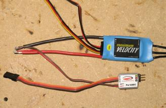 2DogRC Velocity 18AMP ESC with the Park BEC.