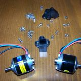 The included motor to stick mounts are <b>very</b> nice.