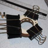 Here you see the included standoffs for the firewall mount.
