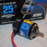 The Power 25 brushless motor.