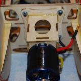Four blind nuts were factory installed and bolts have this assembly quickly attached to the fuselage.