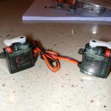 Servos right out of the box.