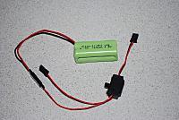 <font size=-2>Dream-Flight  4 cell NiMh Square Battery</font>