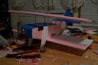 Name: kf bipe front left v2.jpg Views: 220 Size: 38.7 KB Description: Kline Fogelman two step biplane. She was a porker.