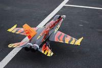 Name: DSC_0032.jpg Views: 169 Size: 87.8 KB Description: The F18 showing it`s Tiger colors
